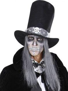 Pajarita esqueletos adulto Halloween