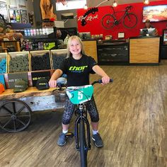 Hailey is pumped on her new @chasebicycles. looking to lose 4 digits of that state #5 plate. We think she can do it! #bmxlife #bmxracing #bmxisfun #bmx4life #usabmx #ridelikeagirl #ridemore #bikelife @virginutahbmx