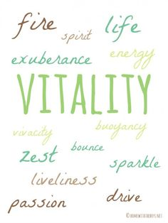Vitality #oneword #oneword365 Word 365, The Desire Map, Spiritual Inspiration, Creative Inspiration, Core Values, Stressed Out, Love Your Life, Life Purpose, Mood