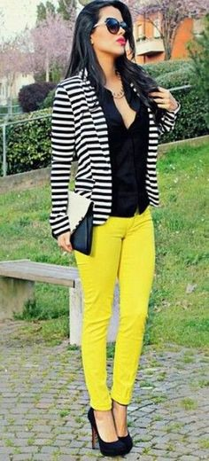 2c49bbda5103a 50 Trends You May Have Missed About black and white striped blazer womens
