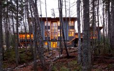 Aerie - SALA Architects. This place is on the GUNFLINT. What.