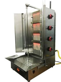 Shawarma Machine  Gyro Machine Tacos al Pastor Machine  Doner Machine   Commerical Vertical Broiler 4 Burners by Spinning Grillers New York Chipotle Wardour Street front of house II   Chipotle   Pinterest  . Professional Kitchen Equipment New York. Home Design Ideas