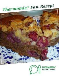 Kirschkuchen schwarz aus dem Bayerischen TM-Kochbuch von Heimchen. Ein Thermomix ® Rezept aus der Kategorie Backen süß auf www.rezeptwelt.de, der Thermomix ® Community.
