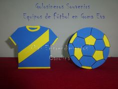 Golosinero Ideas, Soccer Party, Paper Garlands, Decorations, Corrugated Fiberboard, Thoughts
