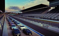 Suzuka Circuit. 5807 meters are waiting for 20 Mercedes-AMG cars and more than 8000 horse power.