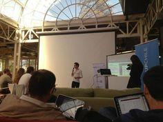 Nuestro CEO Roberto Leon, desde el Worldwide Startup Competition. Dentalink