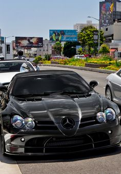 Cool Black Mercedes SLR - Click on the cool pic & join our awesome community to win $250