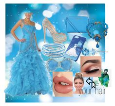 """Real Life Cinderella"" by cool10cat ❤ liked on Polyvore featuring Cinderella, Giuseppe Zanotti, MICHAEL Michael Kors, Disney, Miriam Haskell, Ice and Charlotte Tilbury"