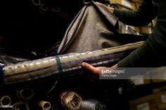Fabrics for costumes at the Tirelli Atelier on February 20 2015 in... Foto di attualità | Getty Images