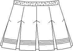 Cheerleader's Skirt designs