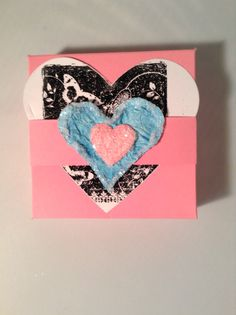 Heart cans box