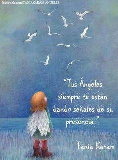 Imágenes de ángeles con frases y mensajes | Imágenes y Noticias