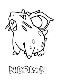 coloring page 107 hitmonchan coloring pages