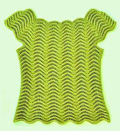 O lindo ponto ripple vem nessa blusa! Com duas sugestões de gráficos para obtermos resultado semelhante....