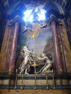 Bernini - Noli me tangere - Altare dei Ss. Domenico e Sisto