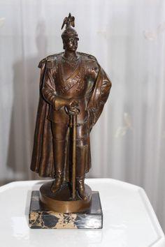 Sammeln & Seltenes Antik Großes Bronzerelief Mit Paul Von Hindenburg Um 1920 1918-1945