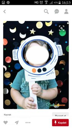 - Weltraum - Best Picture For space For Your Taste You are looking for something, and - Space Crafts For Kids, Space Preschool, Space Activities, Outer Space Theme, Outer Space Party, Nasa Party, Astronaut Party, Space Classroom, Festa Toy Story