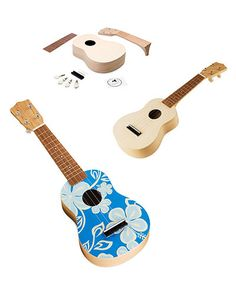 Make your own ukulele kit...an essential.