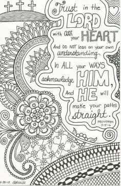 Free Printable Scripture Verse Coloring Pages Scripture verses