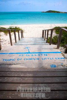 Tropic of cancer beach Little Exuma, Bahamas. My parents were there last week!!! It's so pretty