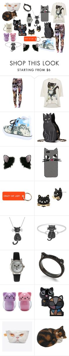 """""""crazy cat lady"""" by collinsmac on Polyvore featuring Vivienne Westwood, Miss Selfridge, Lulu Guinness, Various Projects, Betsey Johnson, Amanda Rose Collection, Finesque, Olivia Pratt, Kate Spade and Forever 21"""