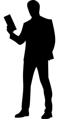 Free Image on Pixabay - Tablet, Business, Man, Browsing Person Silhouette, Silhouette Images, Silhouette Portrait, Silhouette Cameo, My Images, Free Images, Impression Sur Tee Shirt, Model Photoshop, Human Vector