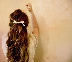 Cute Down Style, with a nice touch of Ribbon(: