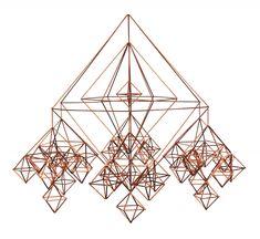 Straw Pajaki polish chandelier Design