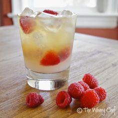 Raspberry Bourbon Lemonade