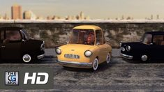 """Check out this cute animated short called """"The Parking Lot"""" about a man who just needs a parking space, created by the talented Florian Genal! Parking Lot, Parking Space, Cgi 3d, Elementary Spanish, 3d Animation, Funny, Short Films, Cute, Writing Prompts"""