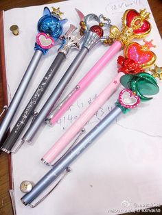 Sailor Moon pens!!!!