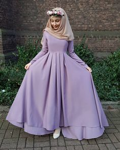 New Fashion Winter Hijab Egypt Ideas Islamic Fashion, Muslim Fashion, Modest Fashion, Fashion Dresses, Hijab Dress Party, Hijab Style Dress, Modest Dresses, Stylish Dresses, Casual Dresses