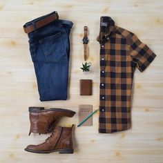 Classic and comfy style with leather boots brogue
