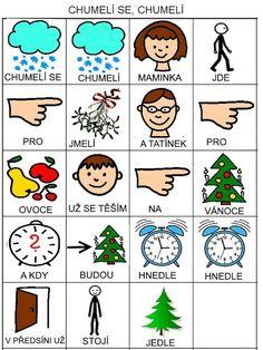 Pro Šíšu: Chumeli se, chumeli Aurora, Advent, Kindergarten, Playing Cards, Language, Activities, Education, Blog, Autism