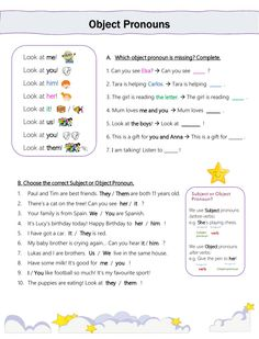 Pronoun Worksheets, English Grammar Worksheets, Worksheets For Kids, Kindergarten Worksheets, Printable Worksheets, English Grammar For Kids, English Language Learning, English File, English Class