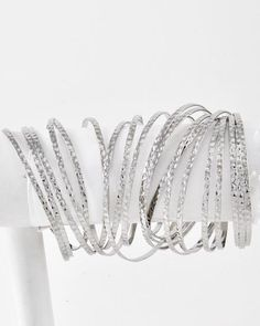 Domino Dollhouse - Plus Size Clothing: Bangle Armpiece in Silver