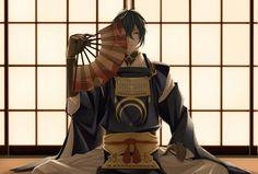 Samurai, Touken Ranbu Mikazuki, The Originals Characters, Bishounen, Hot Anime Guys, Manga Pictures, Awesome Anime, Fire Emblem, Asian Art