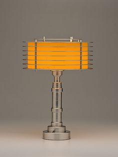 Pattyn Products Space Age Lamp / Walter Von Nessen, designer / c. 1935-40, American