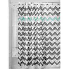 InterDesign Chevron Shower Curtain, 72 by 72-Inch, Gray/Aruba InterDesign http://www.amazon.com/dp/B00L43HJUQ/ref=cm_sw_r_pi_dp_Nlc5tb074N2YB $18.99