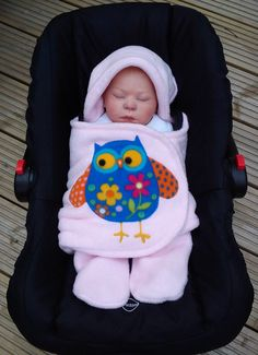 Hey, I found this really awesome Etsy listing at http://www.etsy.com/listing/165163716/owl-car-seat-cosy-wrap-swaddle-blanket