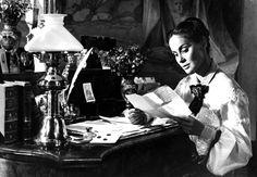 Alida Valli in Senso • Directed by Luchino Visconti 1954