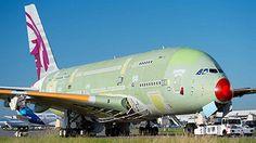 First A380 for Qatar