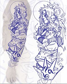 Wolf Tattoo Sleeve, Tattoo Sleeve Designs, Arm Tattoo, Hand Tattoos, Sleeve Tattoos, Tatoo Naruto, Tattoo Sketches, Tattoo Drawings, Band Tattoos For Men