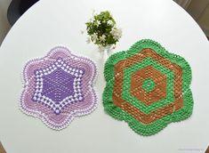 LiteVirkning Crochet Earrings, Mandala, Threading, Coloring Pages Mandala, Mandalas
