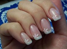 Classy French Nail Art – Cute Nail Ideas