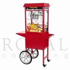 Verrijdbare popcornmachine
