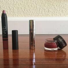 NARS Laura Mercier Benefit Cosmetics Makeup Sample Lip and eye product mini sizes NARS Makeup Lipstick