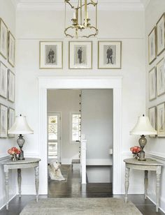 Wall Art Ideas | Tips for Hanging, Arranging | Laurel Home | lovely design and art wall by Allison Hennessey #whiteonwhite