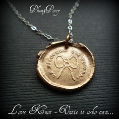 Love Knot - Antique Wax Seal