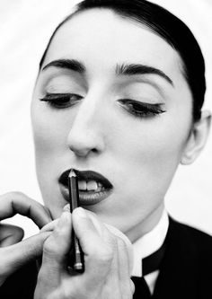 Rossy de Palma by Manuel Outumuro.